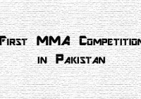 Mixed Martial Arts Competition to be Held in Lahore