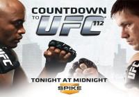 UFC 112 in Abu Dhabi getting set up.