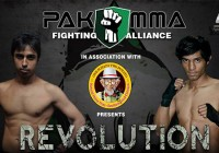 "PAKMMA FIGHTING ALLIANCE 1 ""Revolutions"" to debut in Lahore, September 28th"