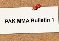 PAKMMA Bulletin 1