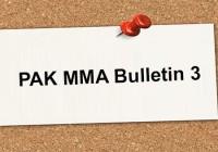 PAKMMA Bulletin 3!