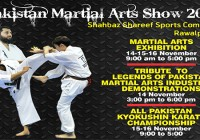 Pakistan Martial Arts Show 2014