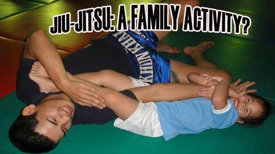 Jiu-Jitsu: A family activity?